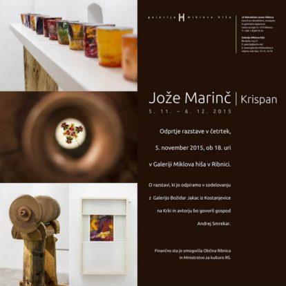 Odprtje razstave KRISPAN