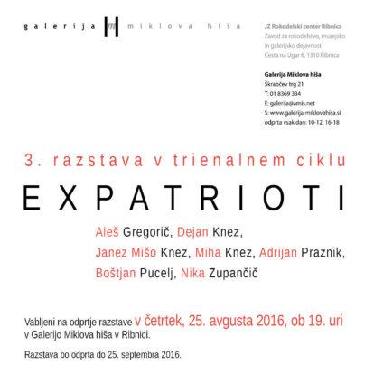 Odprtje razstave EXPATRIOTI