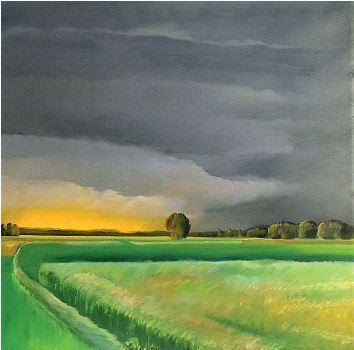 Odprtje razstave slikarja Igorja Dolenca